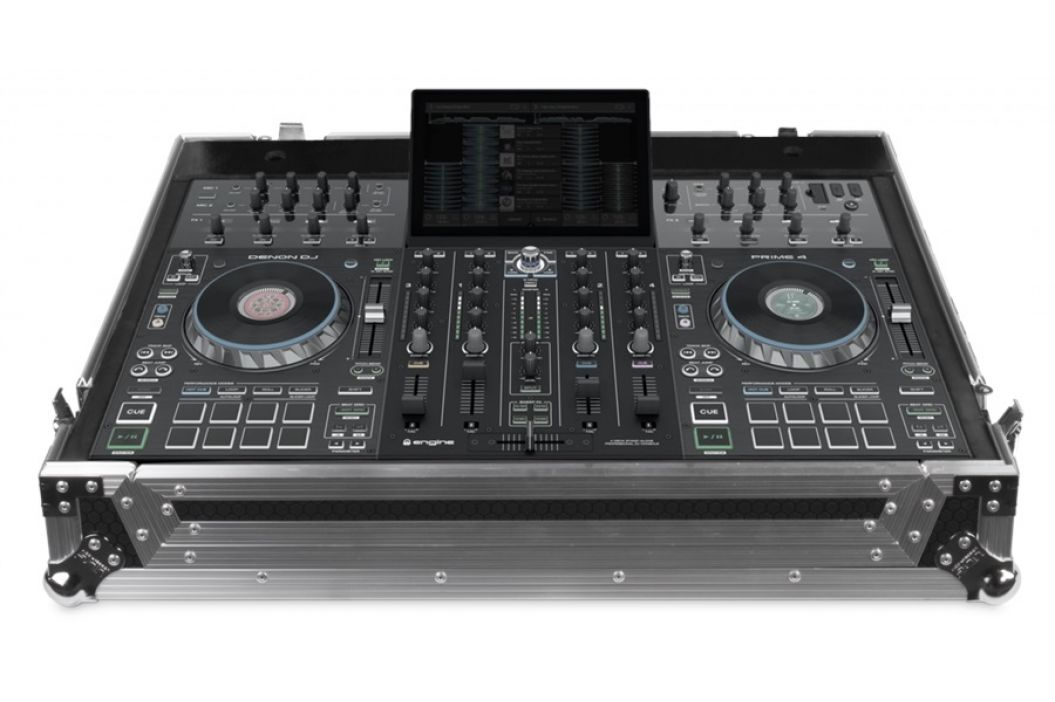 UDG Ultimate Flight Case Denon DJ Prime 4 Silver Plus (Wheels)