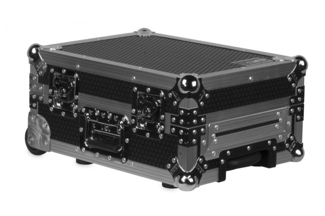 UDG Ultimate Flight Case Multi CDJ/MIXER II Silver Plus (Trolley&Wheel