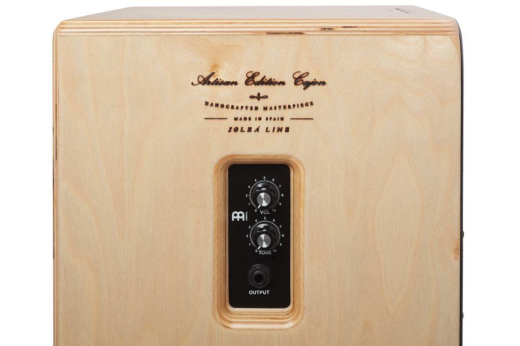 Meinl Artisan Edition Pickup Cajon Dark Olive Burst