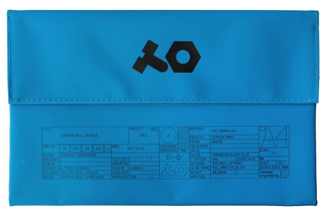 Teenage Engineering OP-Z PVC Roll Up Blue
