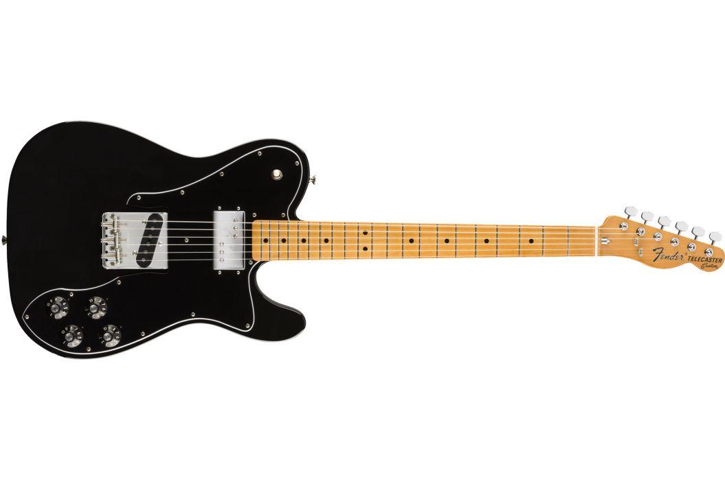 Fender Vintera 70s Telecaster Custom MN BK