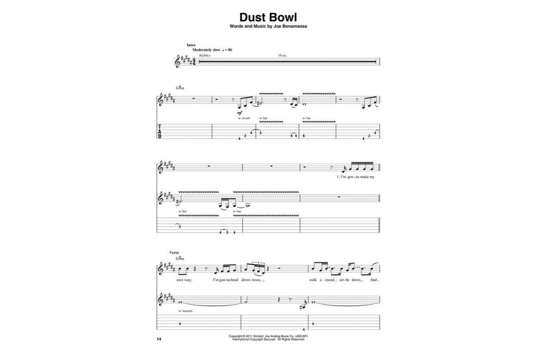 MS Guitar Play-Along: Joe Bonamassa