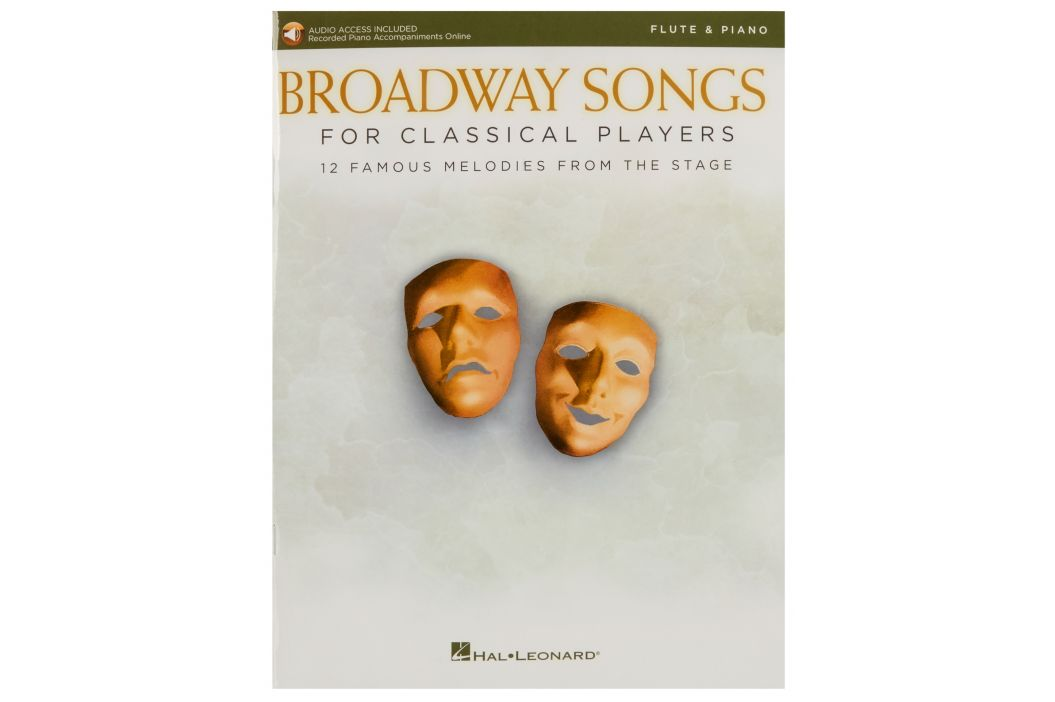 MS Broadway Songs for Classical Players - Flute