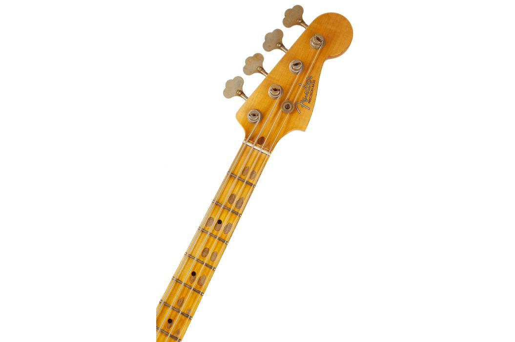 Fender 1957 Precision Bass® Journeyman Relic®, Maple Fingerboard, Aged