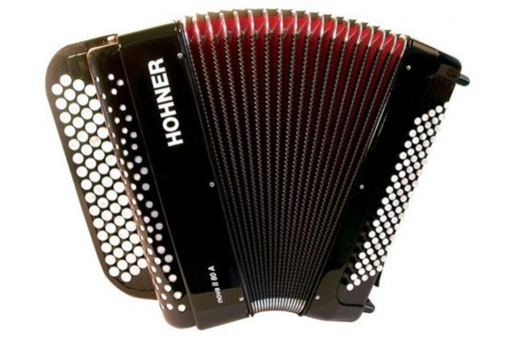 Hohner Nova II 80 A, black, C-stepped