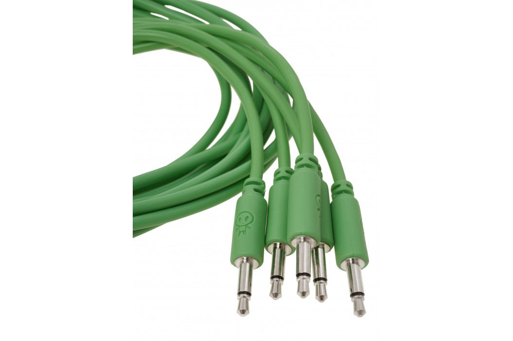 Erica Synths Eurorack patch cables 90cm, 5 pcs green