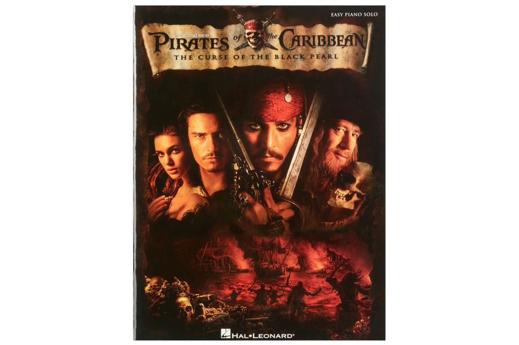 MS Pirates Of The Caribbean: Easy Piano Solo