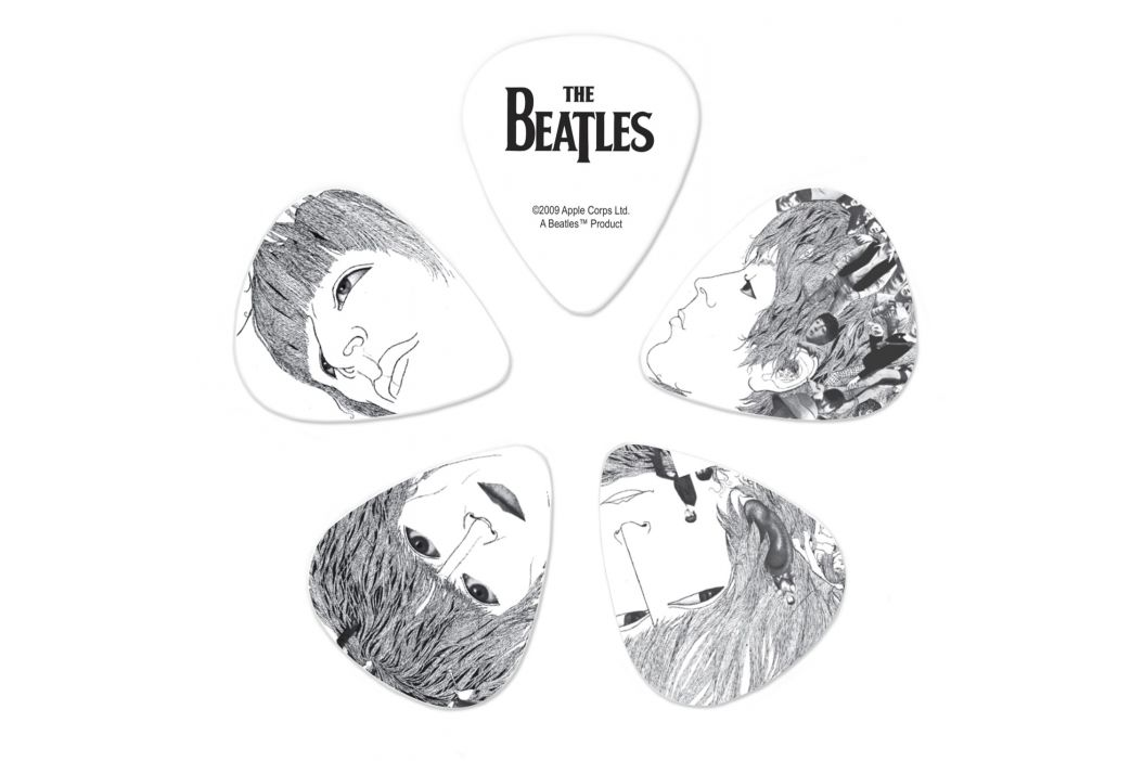 D'Addario Planet Waves Beatles Revolver Guitar Picks Thin