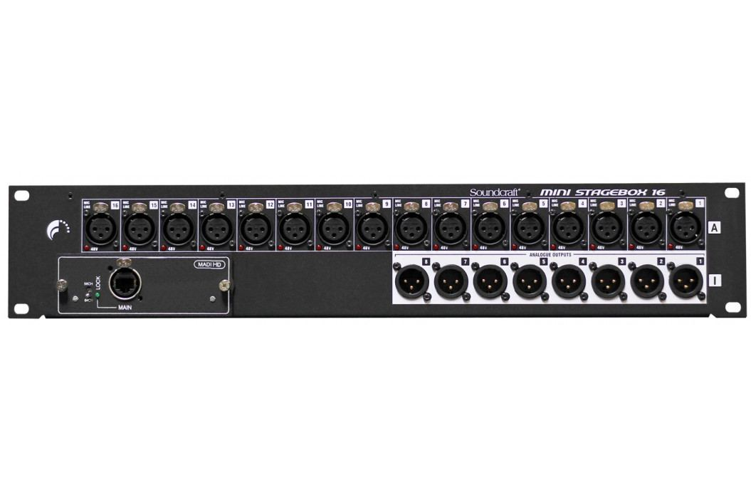 Soundcraft Si MINI-STAGE-BOX 16R