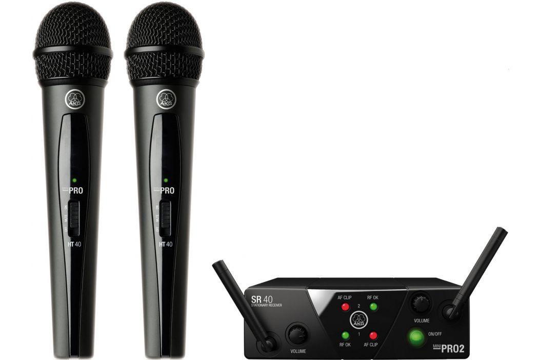 AKG WMS40 Mini2 Vocal Set Dual US25BD