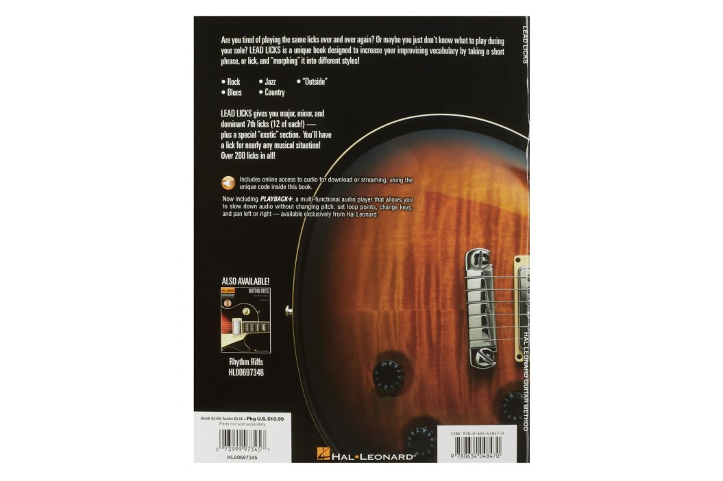 MS Hal Leonard Guitar Method - Lead Licks