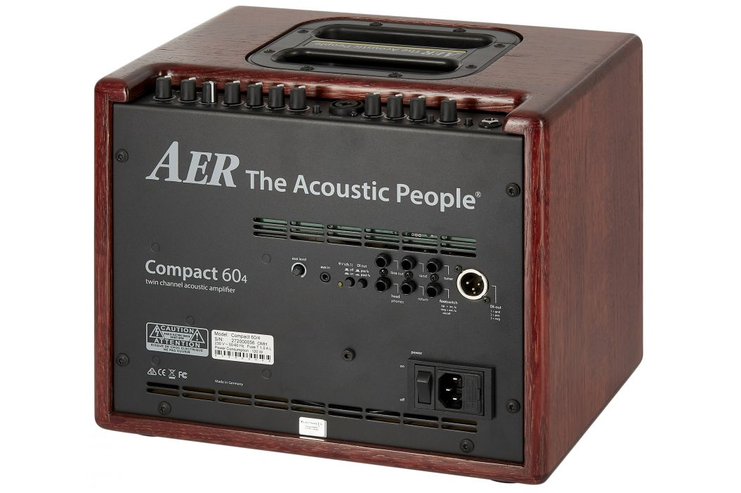 Aer Compact 60 IV OMH Oak Mahogany Stained