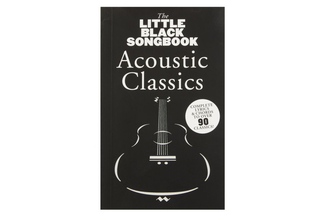 MS The Little Black Songbook: Acoustic Classics