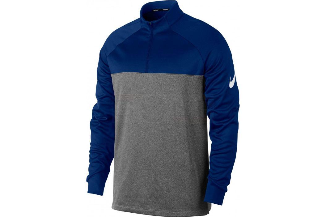 Nike Mens Therma Top Hz Core University Blue/Dark Grey/Htr/White L