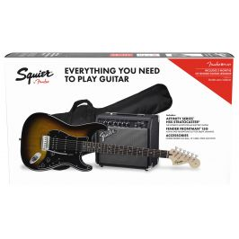 Fender Squier Affinity Series Stratocaster HSS Pack LRL BS