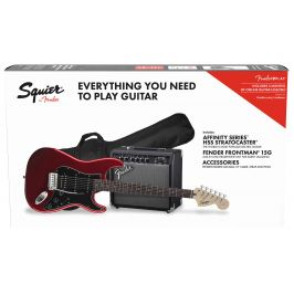 Fender Squier Affinity Series Stratocaster HSS Pack LRL CAR
