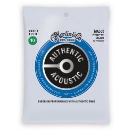 Martin Authentic SP 92/8 Phosphor Bronze 12-String Extra Light