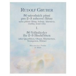 KN 50 národních písní I. díl - Rudolf Gruber