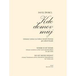 KN Kde domov můj - virtuózní variace na českou národní hymnu pro sólov