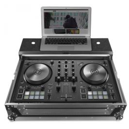 UDG Ultimate Flight Case NI Kontrol S2 MK3 Silver Plus (Laptop shelf)