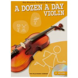 MS A Dozen A Day - Violin