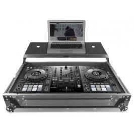 UDG Ultimate Flight Case Pioneer DDJ-800 Silver Plus (Laptop shelf)