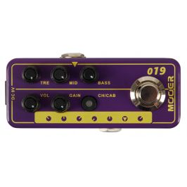 Mooer Micro PreAmp 019 - UK Gold PLX