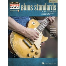 MS Deluxe Guitar Play-Along: Blues Standards