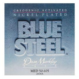 Dean Markley 2676A MED 50-105 Blue Steel NPS Bass