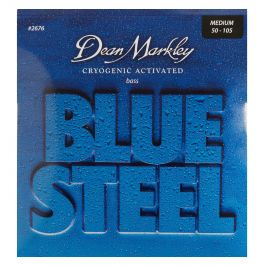 Dean Markley 2676 MED 50-105 Blue Steel Bass