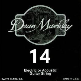 Dean Markley 1014 Plain Steel Single .014