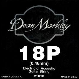 Dean Markley 1018 Plain Steel Single .018