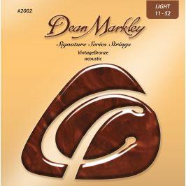 Dean Markley 2002 LT 11-52 VintageBronze Acousti 011-015-024-032-042-0