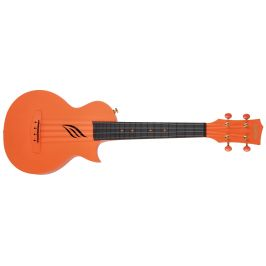 Cascha HH 2289 Carbon Fibre Ukulele Set Orange