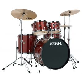 Tama Rhythm Mate Studio set Red Stream