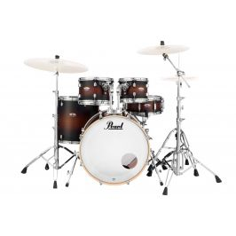 Pearl DMP Decade Satin Brown Burst Fusion Set