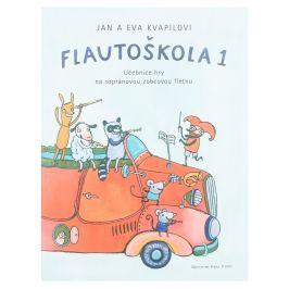 KN Flautoškola 1 - Učebnice hry na sopránovou zobcovou flétnu