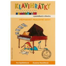 KN Klavihrátky - s pastelkami u klavíru - přípravný pracovní sešit