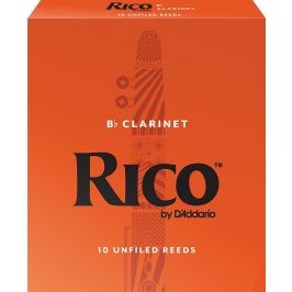 Rico D'Addario Bb Clarinet 2,5, 10