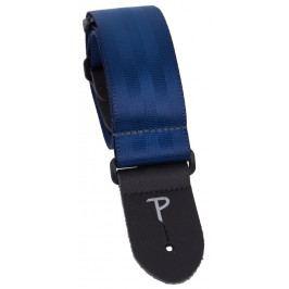 Perri's Leathers 1695 Seatbelt Navy Blue