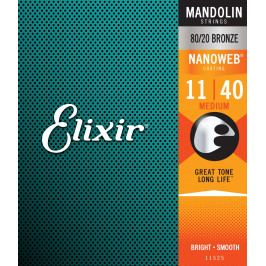Elixir Nanoweb 80/20 Bronze Mandolin Medium