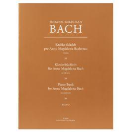 KN Knížka skladeb pro Annu Magdalenu Bachovou - výběr