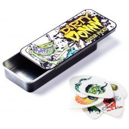 Dunlop Dirty Donny Blackline Art Pick Tin 0.73