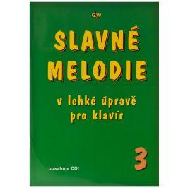 KN Slavné melodie v lehké úpravě pro klavír 3.díl