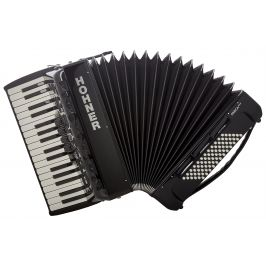 Hohner Amica Forte III 72 Black Silent Key