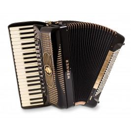 Hohner Gola 414, black with blind (jalousie) - no chin register