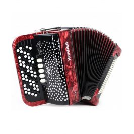 Hohner Nova III 96 red, B-stepped