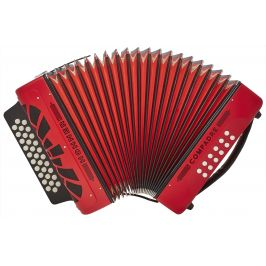 Hohner Compadre GCF, red