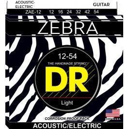 DR Zebra Acoustic/Electric 12/54