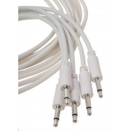 Erica Synths Eurorack patch cables 10cm, 5 pcs white